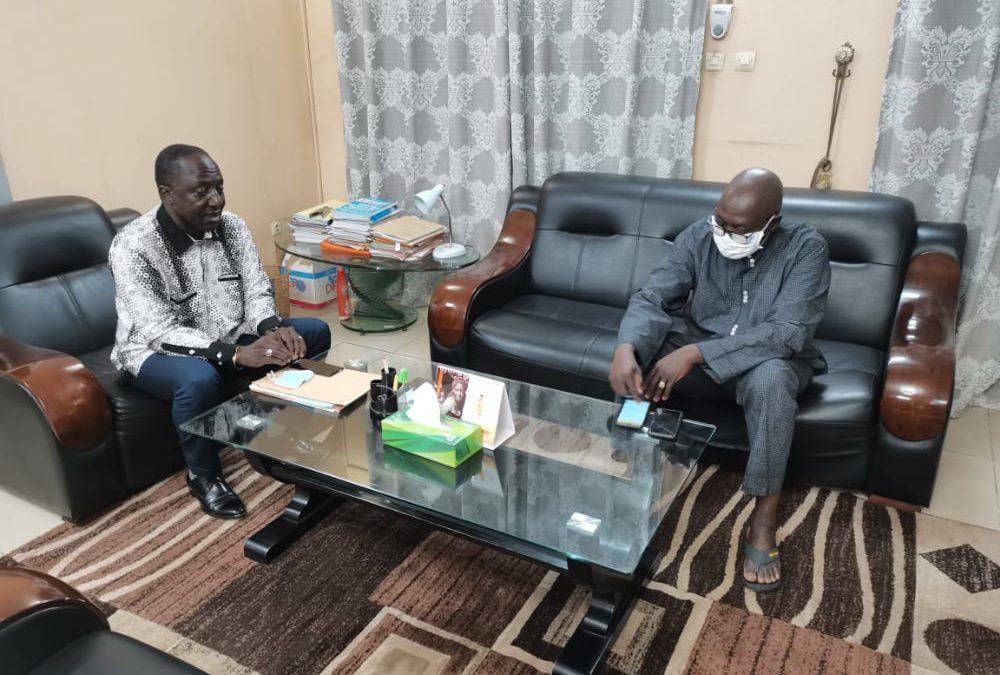 Visite de courtoisie du Président de la FENASCOM à l'ANAM