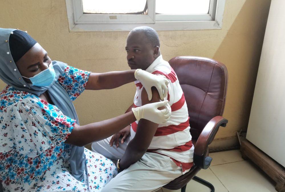 Vaccination du personnel de l'ANAM contre la COVID 19